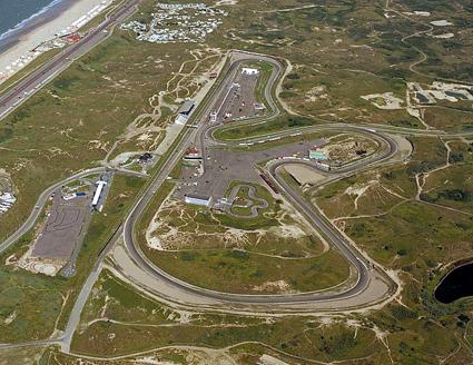 zandvoort circuit luchtfoto