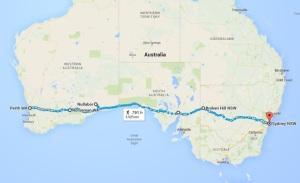 James Brooman Perth_WA_to_Sydney_NSW_-_Google_Maps