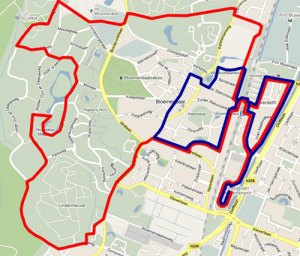 Letterenloop 20150607 Parcourskaart-5-en-10-km-50